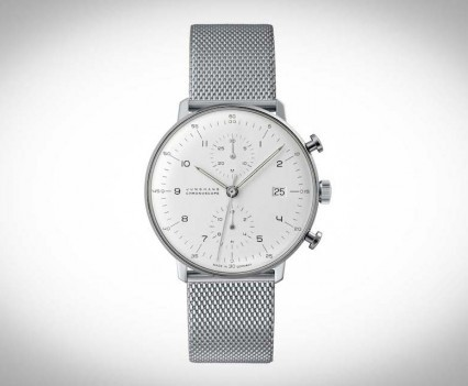 Montre Junghans Max Bill Chronoscope - 027/4003.44