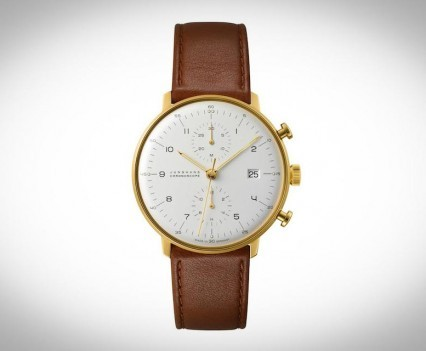 Montre Junghans Max Bill Chronoscope - 027/7800.00