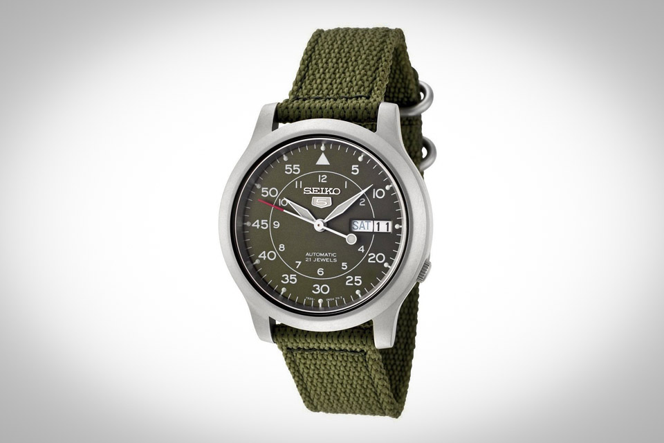 Seiko Military 5 - Montre automatique