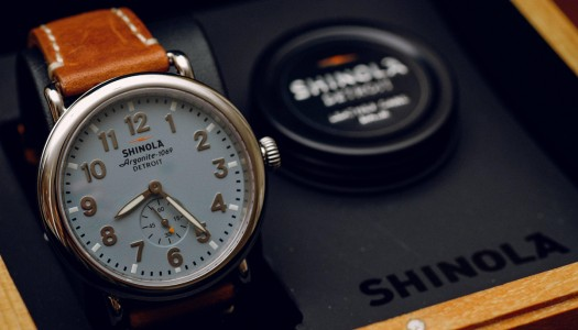 Shinola The Runwell : La Montre « Made in Detroit »
