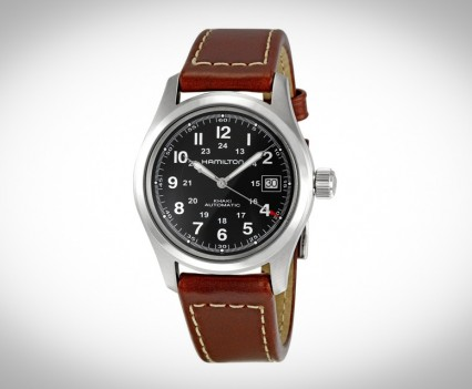 Montre-Automatique-Hamilton-Khaki-Field