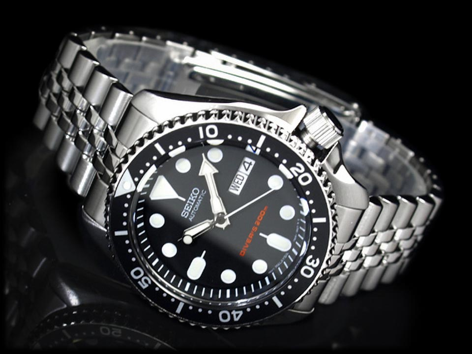 Montre-Automatique-Seiko-SKX007