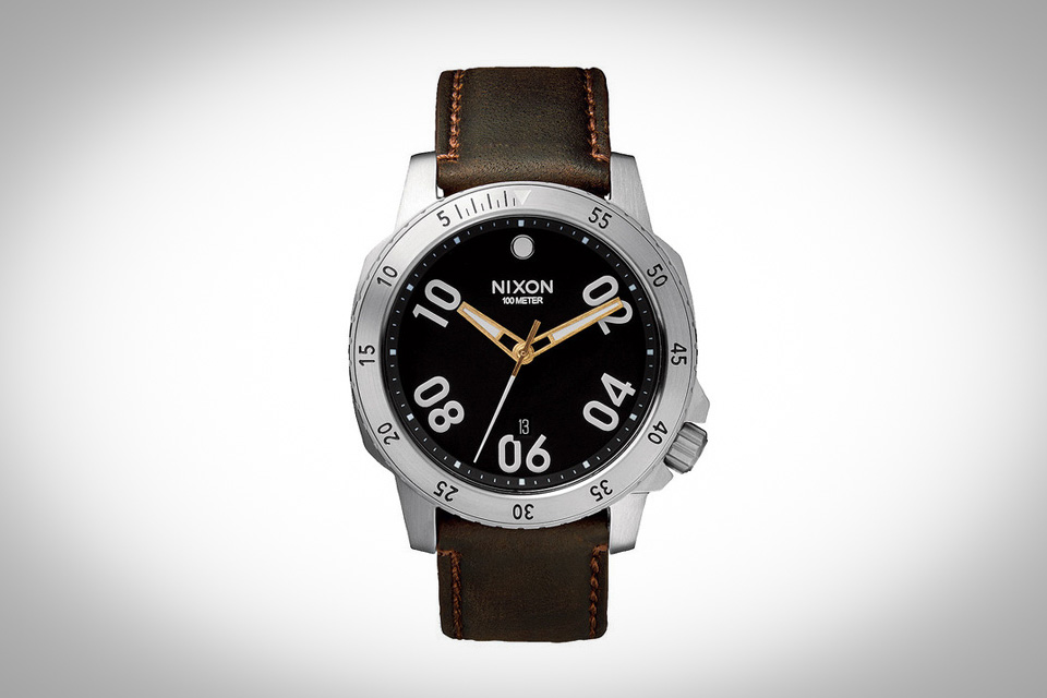 Montre-Nixon-Ranger-Leather
