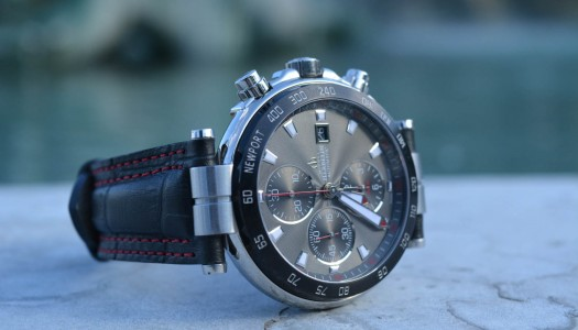 Test de la Michel Herbelin Newport Yacht Club Chronographe