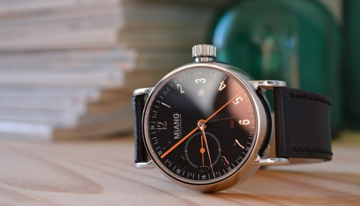 Miang Copenhagen Flash Automatic GMT : une scandinave sur-mesure