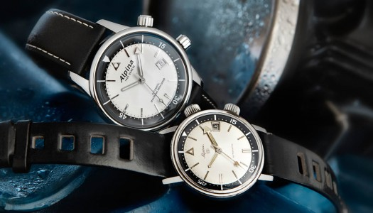 Lancement : Alpina Seastrong Diver Heritage