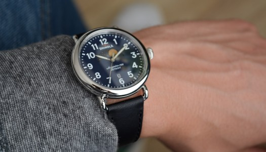Focus sur la Shinola The Runwell Moon Phase 41mm