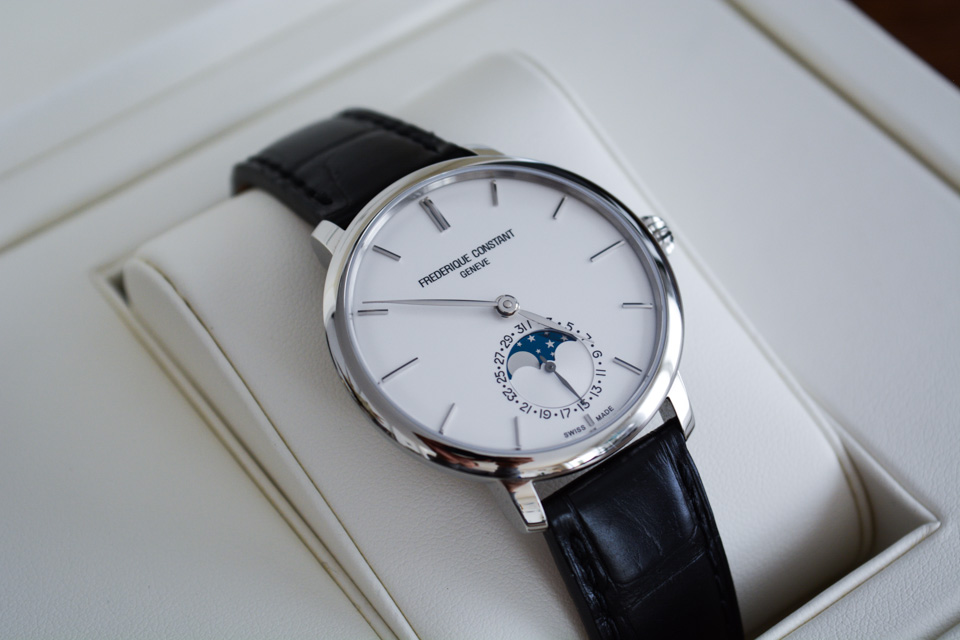 Frederique Constant Slimline Automatic : Test & Avis Mr Montre