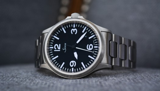 Test de la montre Sinn 556 A