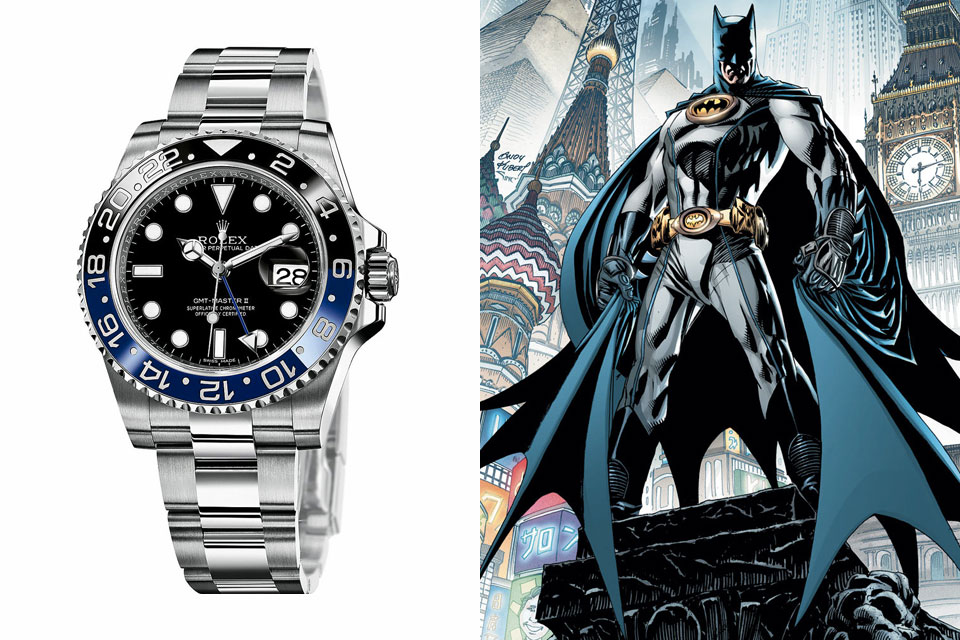 Surnoms-Montres-rolex-batman