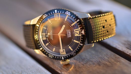 Test de l'Oris Diver Sixty-Five