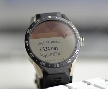 Montre Tag Heuer Connected - Tracking Activité