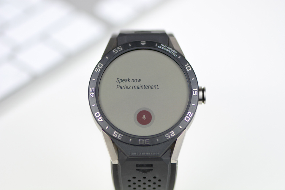 Montre Tag Heuer Connected - Fonction Traduction