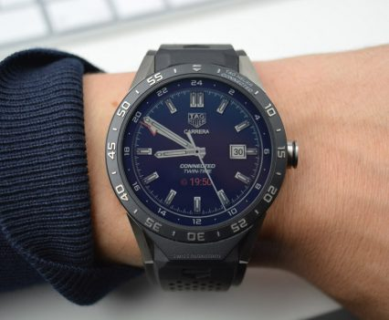Montre Tag Heuer Connected - Cadran GMT