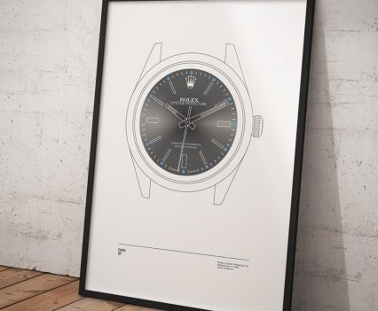 Nine37 : Poster Rolex Oyster Perpetual 39 Gris