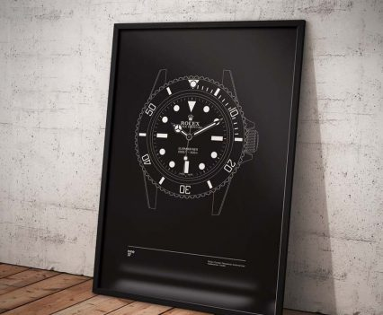 Nine37 : Poster Rolex Submariner
