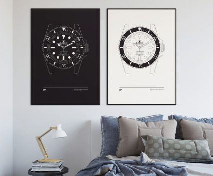 Nine37 : Posters Rolex Submariner
