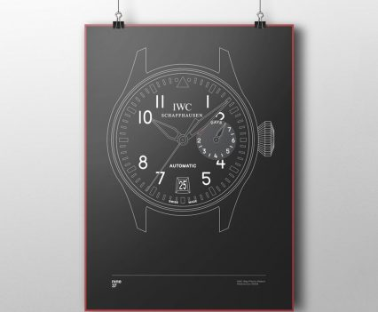 Nine37 : Poster IWC Big Pilot 5009