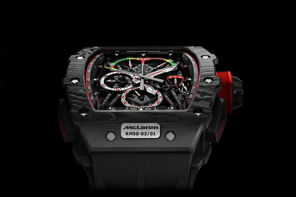 SIHH-Richard-Mille-RM-50-03-Tourbillon-Split-Seconds-Chronographe-Ultralight-MacLaren-F1-2
