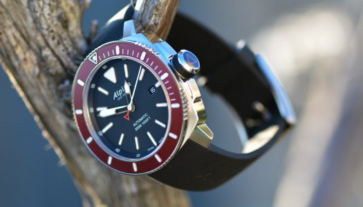 Test de l'Alpina Seastrong Diver 300 Automatic