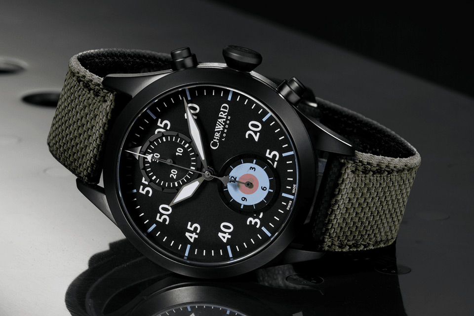 Montre-Chronographe-Automatique-Christopher-Ward-C1000-Typhoon