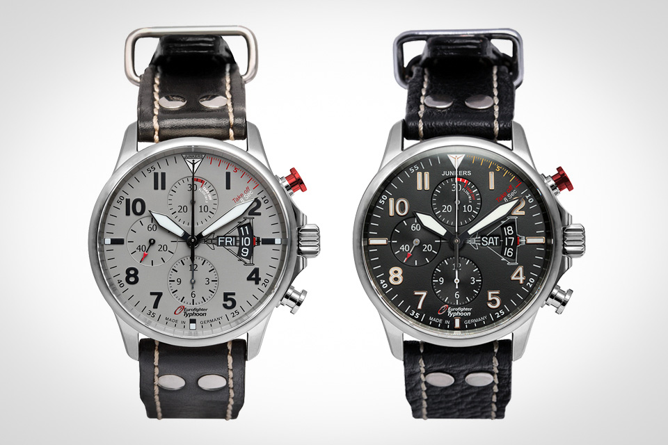 Montre-Chronographe-Automatique-Junkers-Edition-Eurofighter