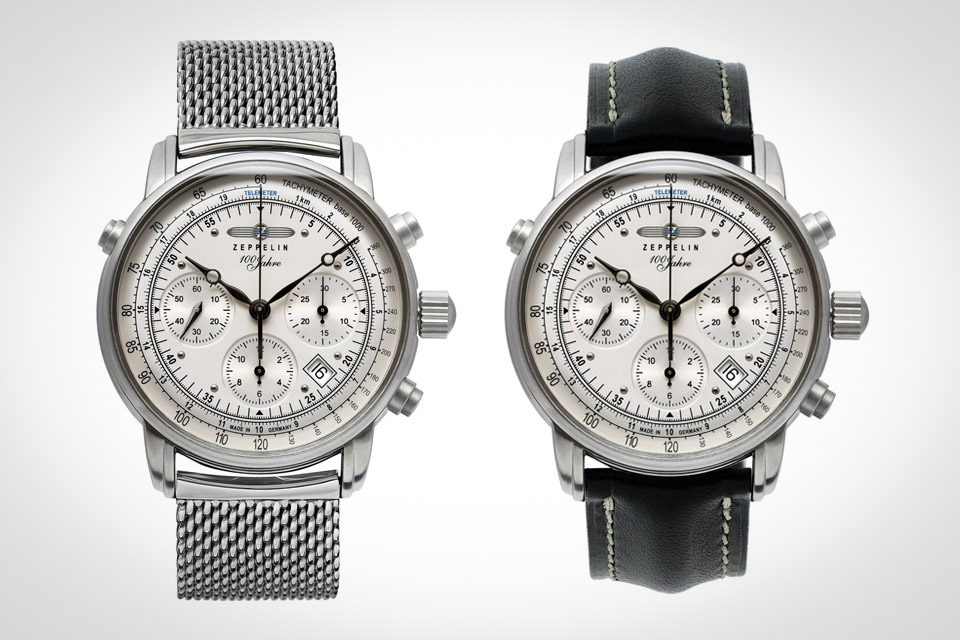 Montre-Chronographe-Automatique-Zeppelin-100-Years