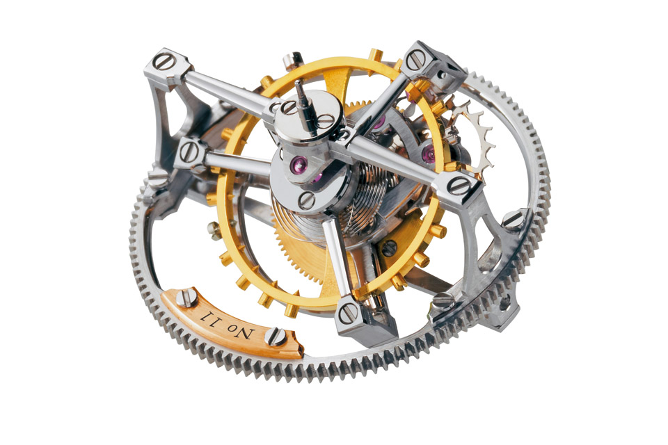 Mouvement-Tourbillon-Horlogerie