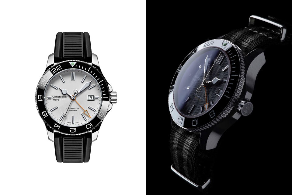 Montre-Christopher-Ward-C60-Trident-GMT-600