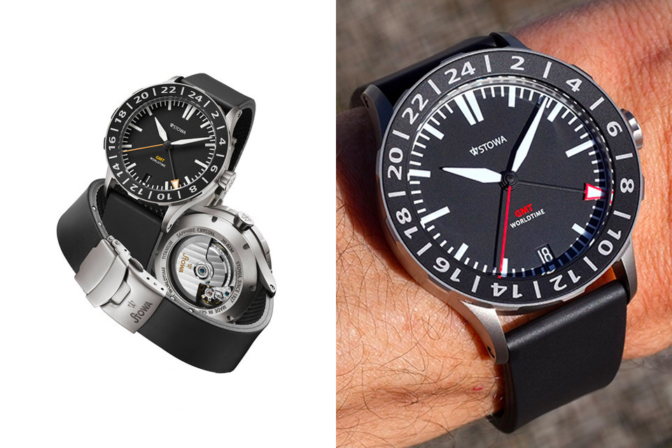 Montre-Stowa-FLieger-GMT
