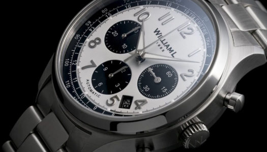 William L. 1985 dévoile un chronographe automatique à 499€