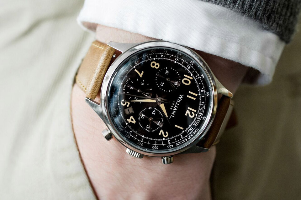 william l chronographe automatique
