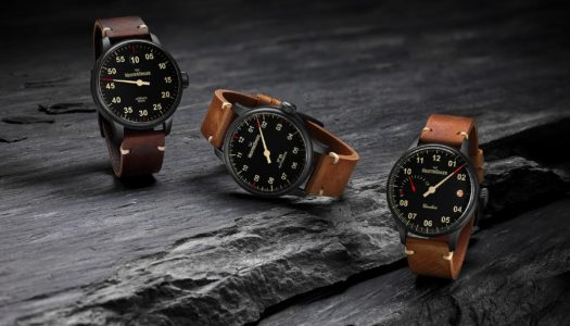 MeisterSinger passe au noir avec la collection Black Line