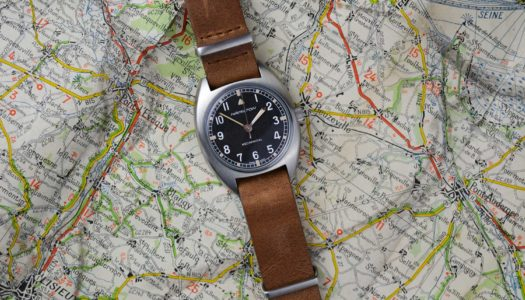 Hamilton se la joue vintage avec la Khaki Aviation Pilot Pioneer Mechanical