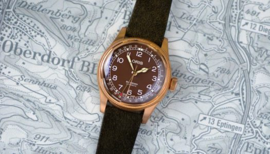 L'Oris Big Crown Bronze Pointer Date passe au chocolat