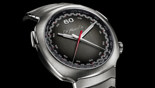 Zoom sur la H. Moser Streamliner Flyback Chronograph Automatic