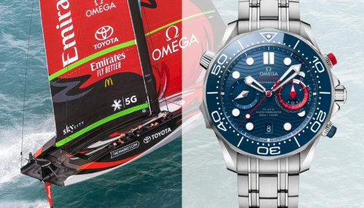 Seamaster Diver 300M America's Cup : Omega met les voiles !