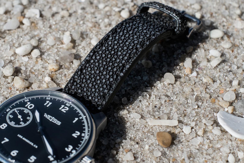 Tout Savoir Sur Le Cuir bracelet de montre en galuchat : histoire, caractéristiques
