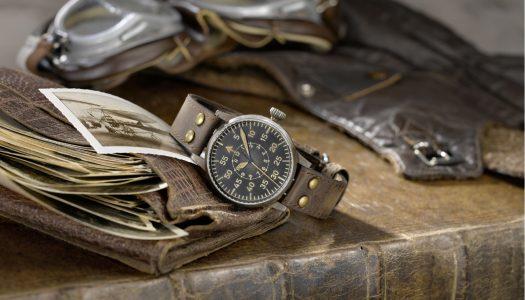 Laco Erbstück ou la montre pilote vieillie artificiellement