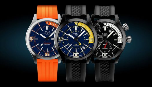 Ball dévoile sa nouvelle collection Engineer Master II Diver