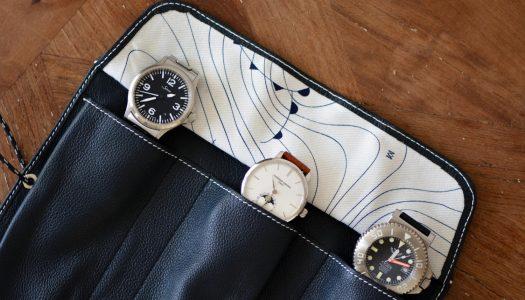 Avel & Men Ploumanac'h : un étui pour montre inspiré de la régate