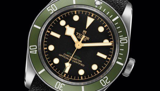 Harrods dévoile une édition spéciale Tudor Black Bay «Green»
