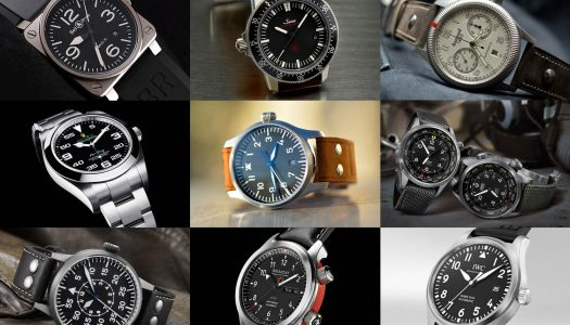 15 montres aviateurs entre 200 et 5000€