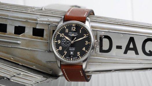 Jeu Concours : Gagnez une montre automatique Iron Annie Cockpit