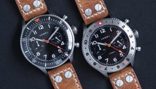 Focus sur le chronographe automatique Hemel HFT20