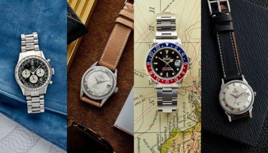 Nos conseils pour acheter une montre vintage
