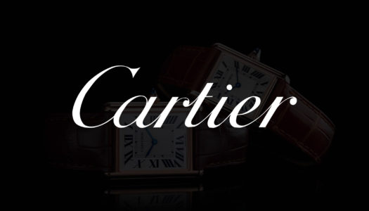 Un petit aperçu des montres Cartier