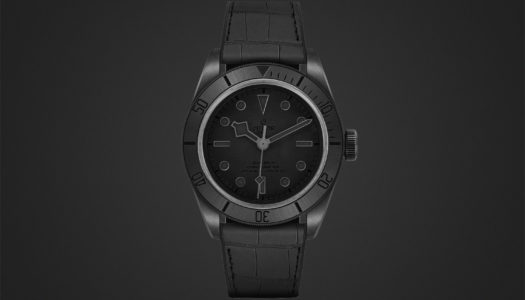 Tudor Black Bay Ceramic One : un modèle unique pour Only Watch 2019