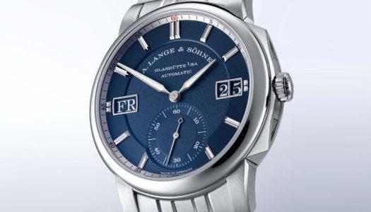 A. Lange & Söhne Odysseus : une première montre en acier à bracelet intégré