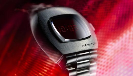 Hamilton PSR ou la renaissance de la première montre digitale